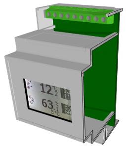 RHT module din rail 18